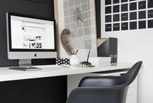 organize OFFICE WORKSPACE / (Home or Not)  Organization & Storage Ideas I Love! / by AmyeToTheRescue! Professional Organizer