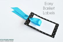 organize LABELS TAGS / LISTS & PRINTABLES! Home Office Organization Tips & Ideas / by AmyeToTheRescue! Professional Organizer