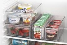 organize REFRIGERATORS / Home Kitchen Organization & Storage Ideas I Love! / by AmyeToTheRescue! Professional Organizer