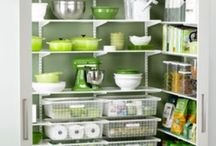 organize PANTRIES / Home Kitchen Organization & Storage Ideas I Love! / by AmyeToTheRescue! Professional Organizer