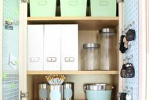 organize FAMILY COMMAND CENTER / Organization & Storage Ideas I Love! / by AmyeToTheRescue! Professional Organizer