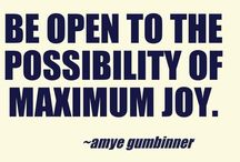 WONDERFUL WORDS / Wisdom, Motivational, Humor and Spiritual Quotes / by AmyeToTheRescue! Professional Organizer