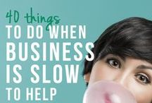 Small Biz Tips / Tips for the small business owner, from #marketing, how-to's and sales.