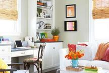 Inspiring Spaces: Office / by Kimberly Bunnell