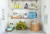 organize LAUNDRY ROOMS / Home Organization & Storage Ideas I Love! / by AmyeToTheRescue! Professional Organizer