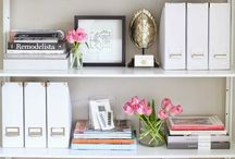 organize BOOKSHELVES / Book & Home Organization & Storage Ideas I Love! / by AmyeToTheRescue! Professional Organizer