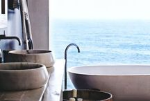 Bath Tub / The ultimate vessel for a clean and luxurious getaway from it all... #bath #luxuryliving #bathroom #spa
