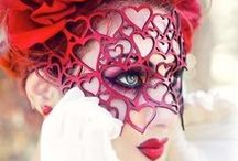 """Wonderland"" Masquerade Ball Party Ideas / by Jessica P"