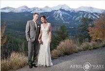 Breckenridge Colorado Photo Locations & Wedding Venues / Photography locations and descriptions of wedding venues in the Breckenridge Colorado area