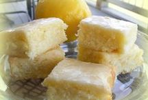 lemony sweets / lemon and lime desserts / by mrsbee