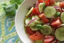 Salads / recipes / by Lori Fritz