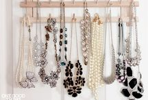 organize JEWELRY / Organization and Storage Ideas I Love! / by AmyeToTheRescue! Professional Organizer