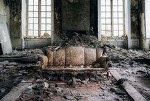 Abandoned / Abandoned building can look so beautiful.  Soft and melancholic.