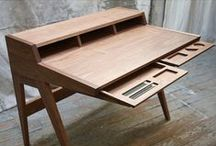 Desk / Unusual and stunning desks.  A little more interesting than the norm.