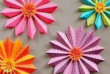 Faux Flowers / Create beautiful DIY flowers with fabric, paper and mixed media. Take a look at our collection of faux-flower crafts and tutorials—perfect for your home, parties or as a vibrant accessory.