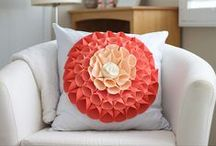 Perfect DIY Pillows / Quickly spruce up the look of your room to reflect the season by changing out the pillows with new handmade stylish ones. Craft a decorative, huggable and chic DIY pillow with these easy sewing and no-sew tutorials.