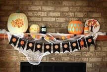 Halloween Party Decor / The go-to board for Halloween party decoration ideas and inspiration. From lawn and front door ornaments to tasty snacks, these DIY craft projects will make any Halloween party spooky and fun.