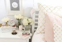 ❁room❁ / Rosy girly floral-y cute bedrooms / by lauren