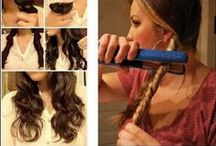 Hairstyles / All the cutest hair styles to help you fix your hair. And for the hair challenged people like me, these step by step hair tutorials are a lifesaver.