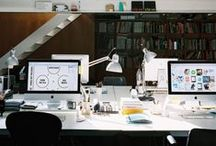 Workspaces / Gathering of awesome workstations, workspaces, and desks from around the world. Corporate & Personal Spaces. / by Angel Ceballos