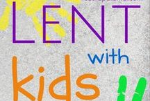 Lent with Kids / Heaps of ideas to help you celebrate Lent with kids. Ideas for church, home and out and about.