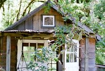 Selina Lake - Cabins / Ideas for our garden cabin