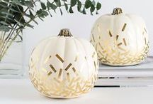Pumpkin Design / Pumpkin . Carving . Design . Clever . Halloween . Fall Table Settings . Stylish Home . Creative Decoration