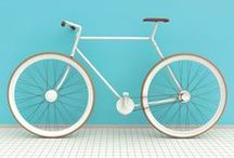 Bicycles / Wheels . Colorful . Relax . Daze . Summer . Carefree .