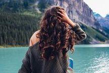 Long Hair, Don't Care / big hair, wavy hair, ombre hair