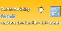 Marketing, Webdesign + Social Media / Hier gibt's Infos + Empfehlungen rund um Marketing, Webdesign + Social Media.