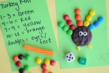 Thanksgiving ideas / by Melinda Tuttle