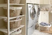 Laundry Room Inspiration  / Laundry rooms
