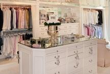 Closet & Makeup Vanity Inspiration  / Closet inspiration