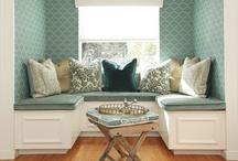 Nooks & Window Seats / nooks, window seats, reading areas