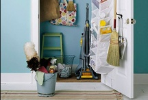 Cleaning Closet Inspiration