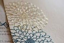 EMBOSSING and Glitter Projects