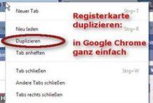 Tipps + Infos zu Google Chrome