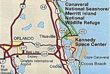 Planning Board for my next Vacation destination: Florida's A1A Atlantic Coast / A road trip along FLORIDA'S A1A Central Atlantic Space Coast (the Surfing Capital of Florida) to Saint Augustine, FL   / by Lisa ☼ Almeda