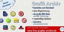 Archiv für kostenlose Grafiken / Hier gibt es zahlreiche Grafiken (und später auch Fotos), die ihr für eure Zwecke beliebig einsetzen könnt.  Alle paar Tage werden einige neue Grafiken ergänzt, so dass mit der Zeit einige hundert kostenlose Grafiken zum Download angeboten werden.  Alle Grafik-Dateien finden Sie in außerdem als gepackte Datei (z. B. für WinZip oder WinRAR) unter http://www.free-graphic-archive.de   #Grafik #Archiv #Grafiken #free #graphic #archive #stock #icon #Symbol #kostenlos