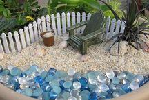 Mini gardens / Miniature gardens and accessories