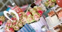 Bridal Shower - Tea Party Theme / Bring out your best china and finger sandwiches and plan a bridal shower/tea party that's worthy of Alice herself!