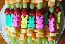 Easter / Easter decor, crafts, food and drinks