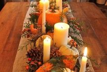 Fall and Thanksgiving / Fall and Thanksgiving decor, crafts, food and drink