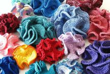 Hyperbolic Corals / Hyperbolic Corals- crochet patterns, ideas, inspiration