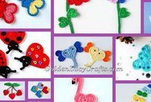 GoldenLucyCrafts - Free Crochet Patterns / Free crochet patterns by GoldenLucyCrafts