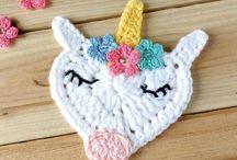 Unicorns / Unicorns - crochet patterns, ideas, inspiration