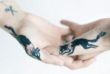 Tattoo Files / Admired tattoos from this here un-inked little lady. / by Mary Andrews