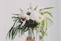 Lovely Wedding Flowers / We are swooning over these gorgeous wedding flowers and bouquets / by Something Turquoise