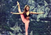 """yogini for life / """"Lack of activity destroys the good condition of every human being, while movement and methodical physical exercise save it and preserve it."""" - Plato"""