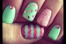 Nails!  / Nail inspiration for us Nail Tech's when we need a creative boost ;) / by Kate Dutcher